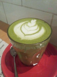 Five and Dime Eatery - Matcha Latte