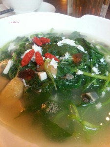 Xi Yan Shaw - Spinach with Three Types of Egg
