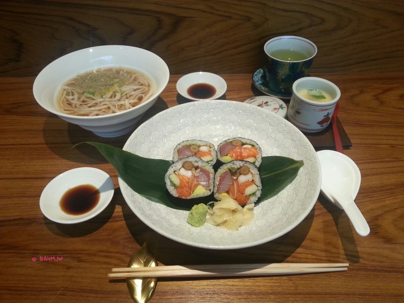 Syun Contemporary Japanese Restaurant - Syun Premium Roll Lunch Set
