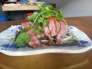 Ding Dong - Spicy beef salad with fragrant herbs