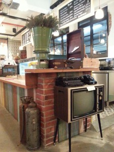 Brunches Cafe - Vintage Items For Sales on Display