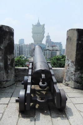 Macau Attractions - Mount Fortress