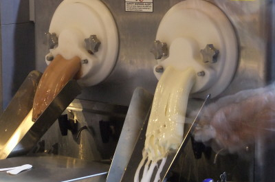 Density Frozen Custard - In the making