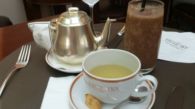 "Angelina Singapore, Tea Room & Patisserie - Angelina Blend and Old-fashioned Ice Chocolate ""L'Africain"""