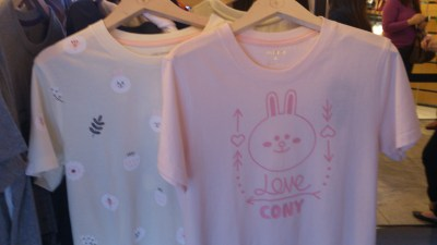 Meet Line Friends At 313@Somerset - T-shirts with Cony