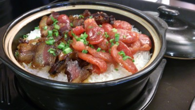 Fu Lin Men Dou Lao Singapore - Chinese Sausage Claypot Rice 腊味煲仔饭