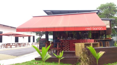 Best 2015 Cafe and Restaurants In Singapore - Red Baron Cafe