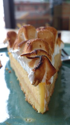 Red Barron Cafe - Lemon Lime Meringue Tart