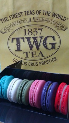 TWG Tea Macarons - Box of 6s macarons