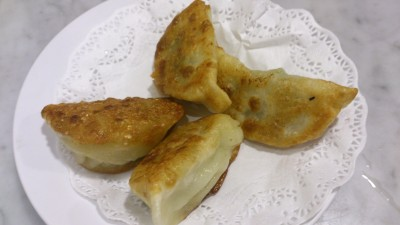 Yum Cha Chinatown - Pan-Fried Chives and Meat Dumpling 非菜煎鍋貼