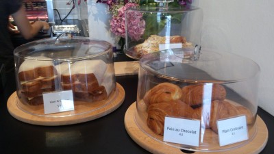 Stamping Ground Coffee House - Food, Ham & Cheese Sandwich & Pastries