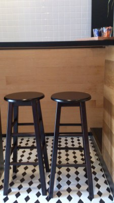 Stamping Ground Coffee House - The 2 high stools