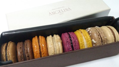 Angelina Macarons - Box of 8 macarons