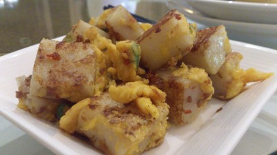 Lei Garden Restaurant Singapore - Pan-fried turnip cakes with home made XO sauce