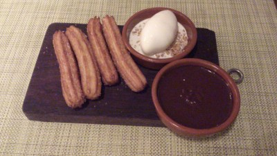 Una @ One Rochester - Churros & chocolat