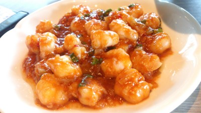 Paradise Dynasty - Stir-fried River Shrimp in Spicy Bean and Tomato Sauce