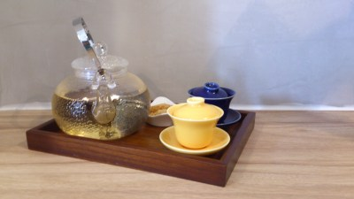 The Dwelling Place Cafe - Tie Guan Ying Tea in Pot