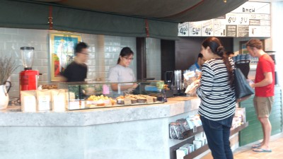 Grain Traders Cafe - Coffee Counter