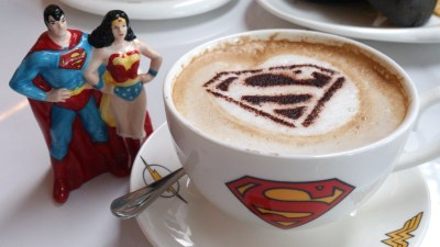 DC Comics Super Heroes Cafe - The Joker's Hot Caper Cappuccino