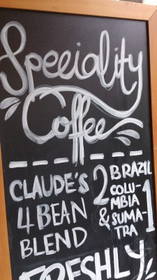 Claude's Cafe - Coffee Beans