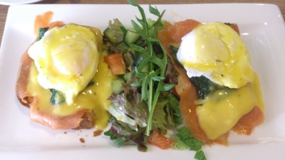 JQ Chef Cafe - Egg Florentine