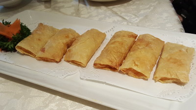 Si Chuan Dou Hua Restaurant @ Parkroyal On Kitchener - Pan-fried Beancurd Skin Roll 香煎腐皮卷