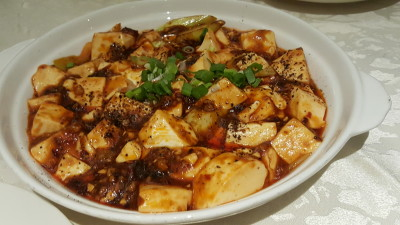 Si Chuan Dou Hua Restaurant @ Parkroyal On Kitchener - Bean Curd in Spicy Minced Meat Sauce 麻婆豆腐