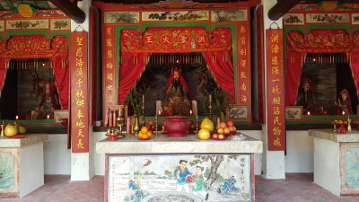 Ping Shan Heritage Trail - Hung Shing Temple (洪聖宫) Altar