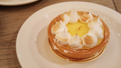 The Library Cafe - Lemon Tart