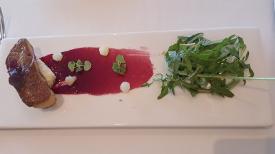 Stellar At 1-Altitude, Singapore Restaurant Week 2015 - Appertizer, Foie Gras