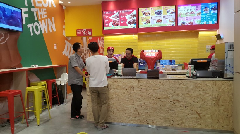 Jinjja Chicken - Order Counter