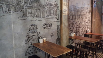 Free The Robot Cafe - Front Space