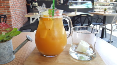 SOD Cafe @ Ci Yuan CC - Summer Fruit SOD Tea in Jug