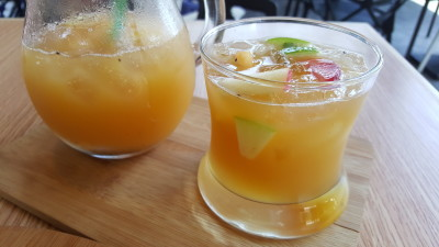SOD Cafe @ Ci Yuan CC - Summer Fruit SOD Tea in Cup