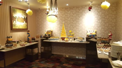The Spirit of Giving at PARKROYAL on Kitchener Road - Minion Theme Dessert Table