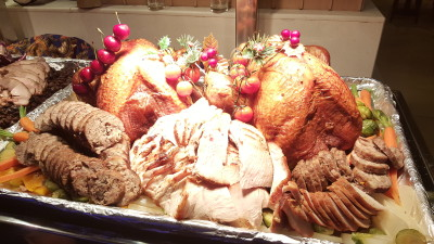 The Spirit of Giving at PARKROYAL on Kitchener Road - Christmas Turkey and stuffing