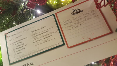 The Spirit of Giving at PARKROYAL on Kitchener Road - Wish Envelope