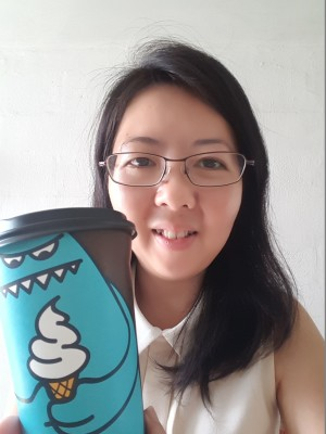 Sweet Monster Singapore - Americano in its Blue Monster Cup