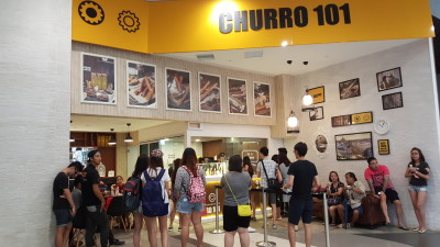 Churro 101 Singapore - Overview of Bugis+ Outlet