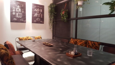 Montana Singapore - A cosy corner with a communal table
