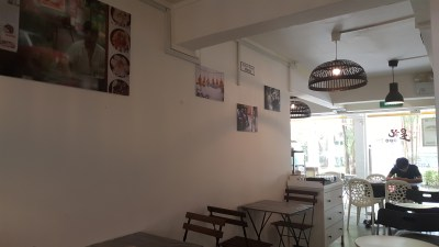 Sing Hong Kong Cafe - Interior View From the back