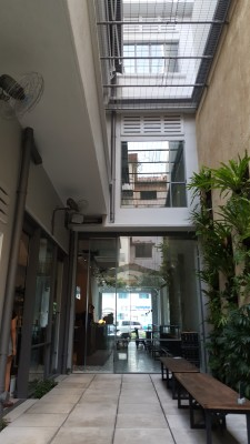 Punch Cafe Singapore - Overview of Courtyard