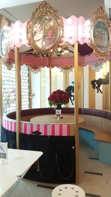 Oh My Tian Cafe, OMT - Interior, merry go round