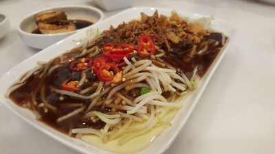Founder Bak Kut Teh @ Hotel Boss - Bean Sprouts with Oyster Sauce 蚝油豆芽 ($5.80/$7.80)