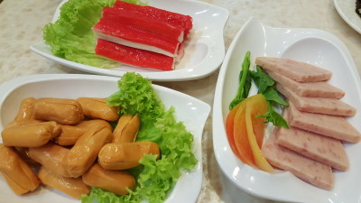 Chao Tian Men Steamboat Buffet Restaurant - Crabstick, Sausage, Luncheon Meat