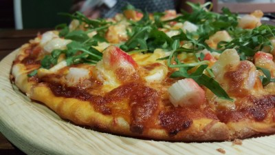 Peppermint Park By Tantric Bar - Sambal Seafood Pizza ($24.90)