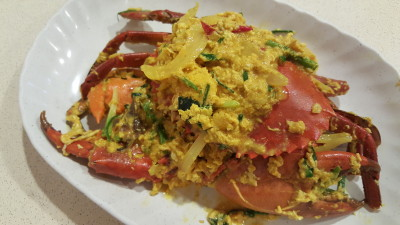 Spicy Thai Thai Restaurant At Aljunied Ave 2 - Thai Style Curry Crab (seasonal price)