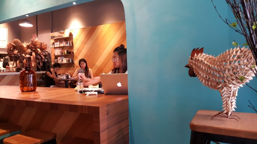Percolate Coffee At Bedok, Singapore - Interior View from the second section