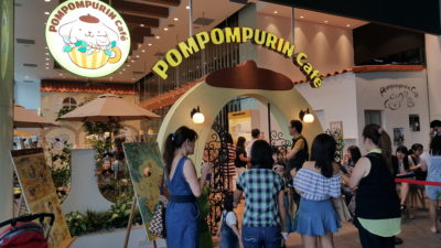 Characters Theme Cafe In Singapore - Pompompurin Cafe