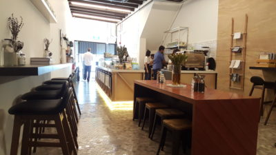 Sprout Salad Bar At Duxton Road, Tanjong Pagar, Singapore - Interior Overview from the back